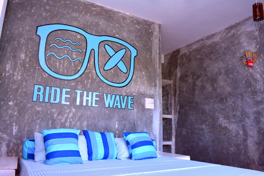 A room at Cheeky Monkey surf camp