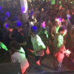Guests dancing at Cheeky Monkey's bar