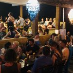 Busy time at Cheeky Monkey surf restaurant