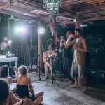 Live music at Cheeky Monkey surf camp